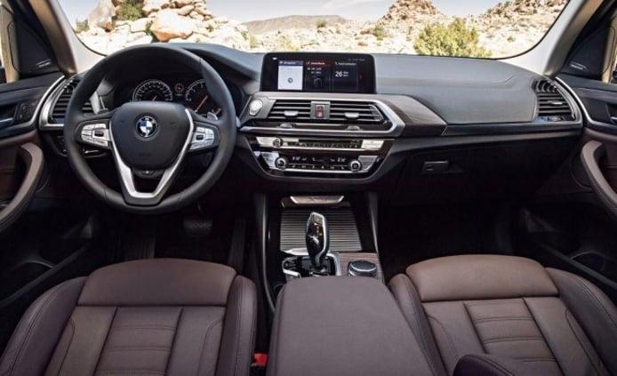 BMW X3 2018 - interior