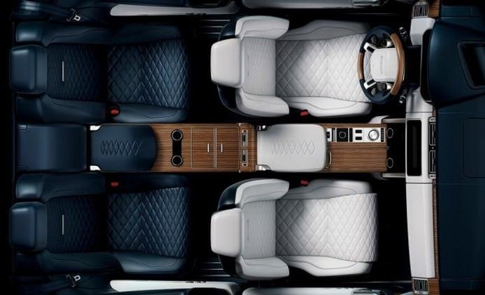 Range Rover SV Coupé - interior