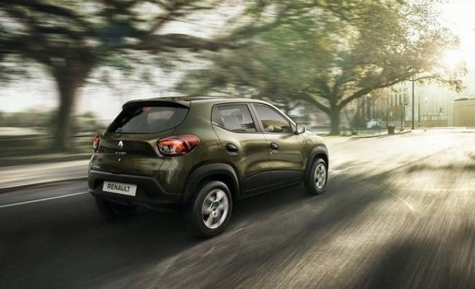 Renault Kwid - posterior