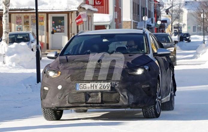 La nueva generación del Kia Ceed Sportswagon se enfrenta a las pruebas de invierno