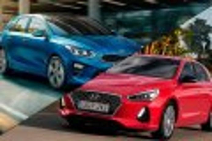 Kia Ceed vs Hyundai i30, comparamos a los dos renovados compactos coreanos