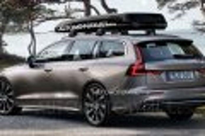 ¡Filtrado! Así luce el nuevo Volvo V60 2018 sin una pizca de camuflaje