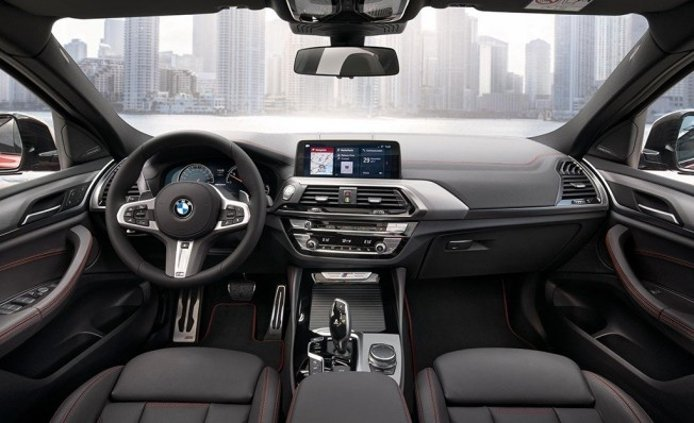 BMW X4 2018 - interior