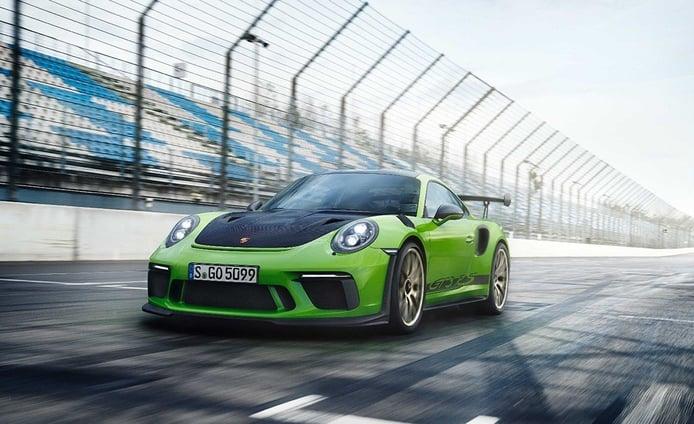 Porsche 911 GT3 RS 2018: el mundo de la competición trasladado a la carretera