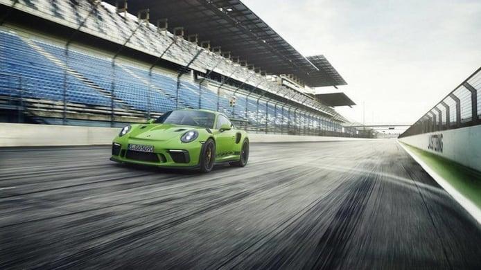El nuevo Porsche 911 GT3 RS aparece en escena antes de su debut en el Salón de Ginebra