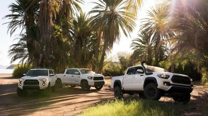 Toyota USA presenta las versiones TRD Pro 2019 del Tundra, Tacoma y 4Runner