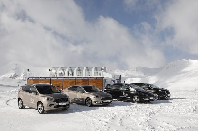 Ford Open Trail: Probamos la gama 4x4 hasta arriba de nieve