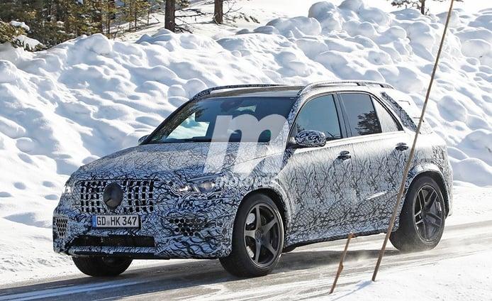 El nuevo Mercedes-AMG GLE 63 2019 se enfrenta al frío y la nieve