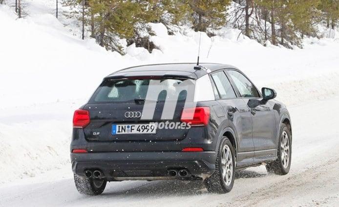 Audi SQ2 2019 - foto espía posterior