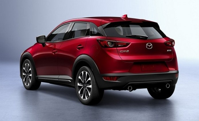 Mazda CX-3 2019 - posterior