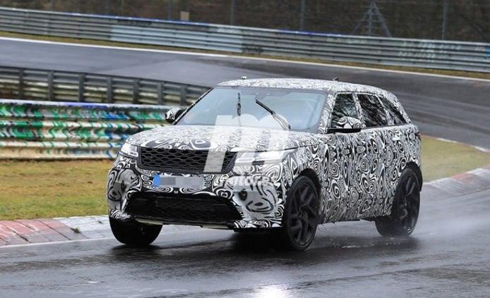 Range Rover Velar SVR - foto espía