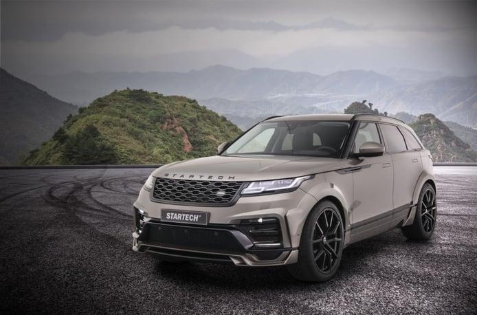 STARTECH dotará de una imagen más poderosa al Range Rover Velar en el Salón de Ginebra