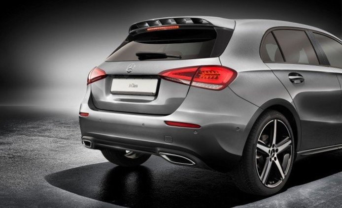 Mercedes Clase A 2018 - alerón trasero