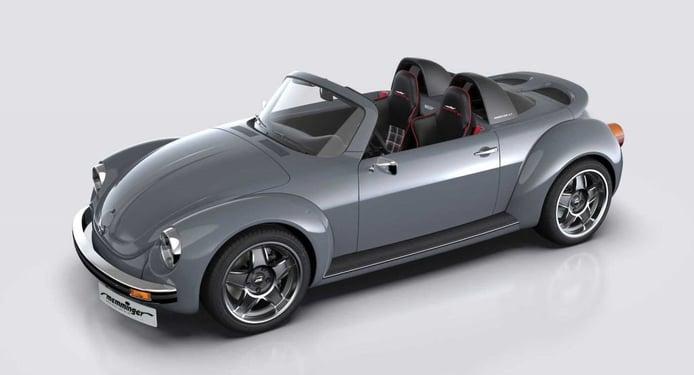 Memminger Roadster 2.7: el deportivo Volkswagen Beetle de motor central