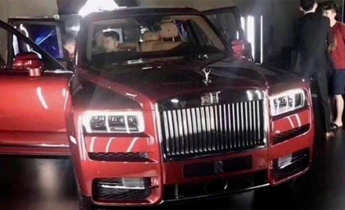 Rolls-Royce Cullinan - foto filtrada