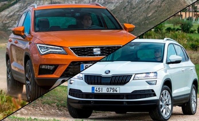 SEAT Ateca vs Skoda Karoq