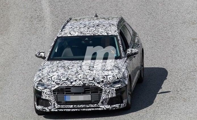 Audi A6 allroad quattro 2019 - foto espía