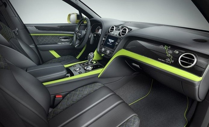 Bentley Bentayga Pikes Peak Limited Edition - interior