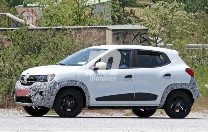 Renault Kwid 2019 - foto espía lateral