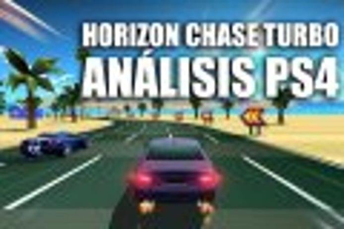 Análisis Horizon Chase Turbo para PlayStation 4: querida retro nostalgia