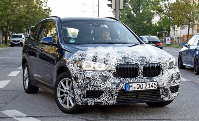 BMW X1 2019 - foto espía