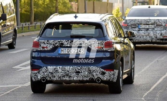 BMW X1 2019 - foto espía posterior