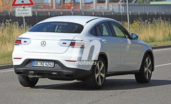 Mercedes Clase GLC Coupé 2019 - foto espía posterior