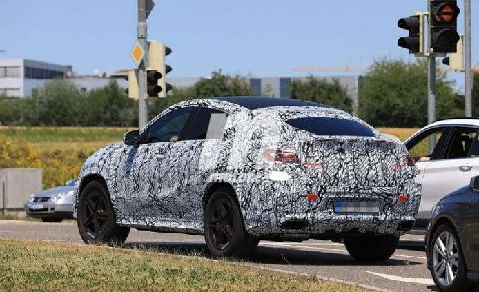 Mercedes Clase GLE Coupé 2020 - foto espía posterior