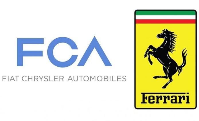 Fiat Chrysler Automobiles y Ferrari