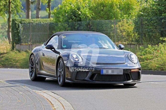 El nuevo Porsche 911 GT3 Cabrio se deja ver en las cercanías del circuito de Nürburgring
