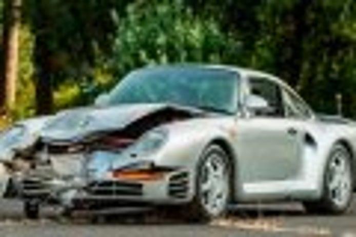 ¿Pagarías medio millón por este Porsche 959 accidentado?