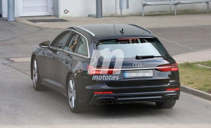 Audi S6 Avant 2019 - foto espía posterior