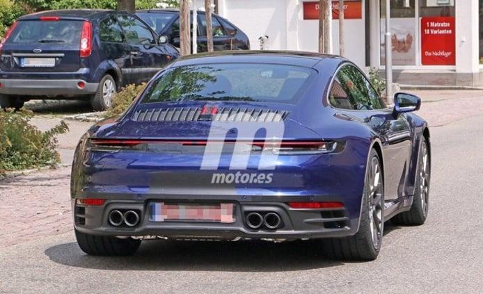 Porsche 911 2019 - foto espía posterior