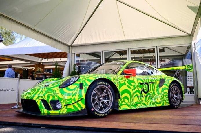 El Porsche 911 GT3 R 2019 se deja ver en el Nordschleife