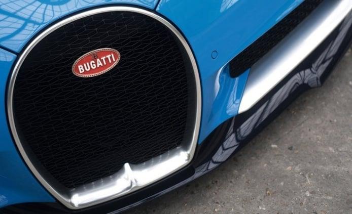 Bugatti Chiron - frontal