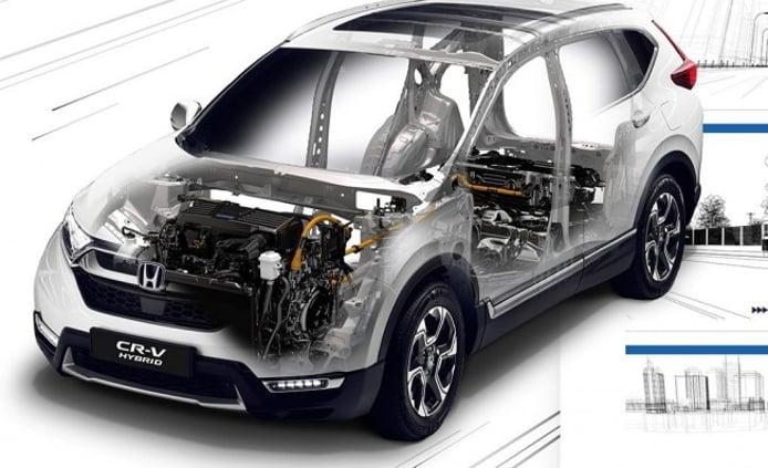 Honda CR-V Hybrid - adelanto