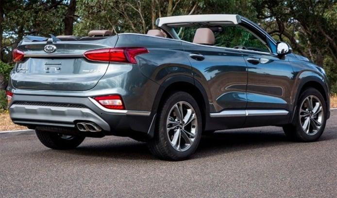 Hyundai Santa Fe Cabrio 2019 - posterior