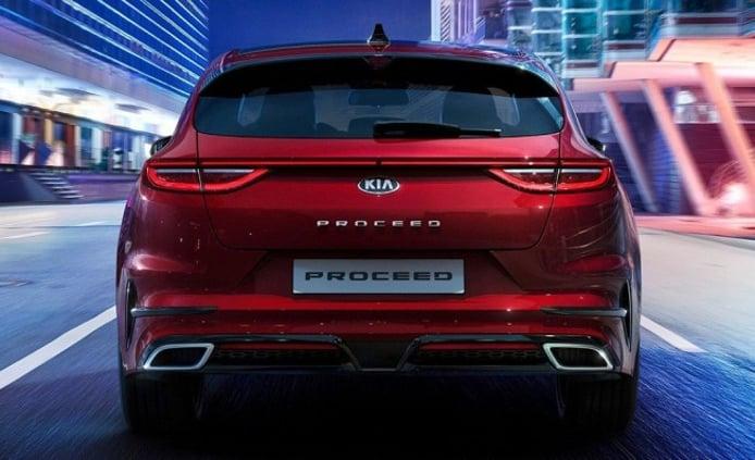 Kia ProCeed 2019 - posterior