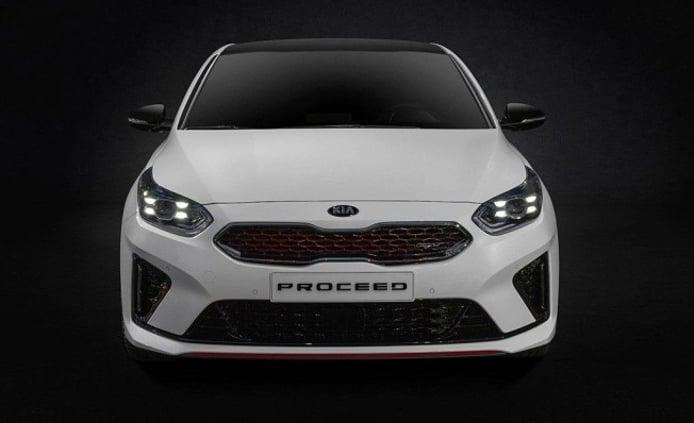 Kia ProCeed GT - frontal