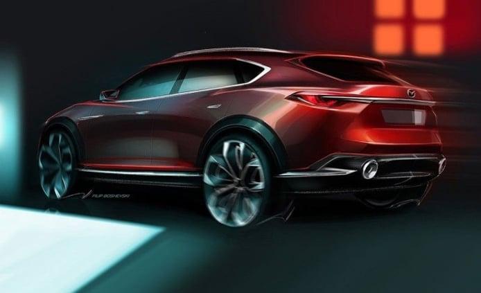 Mazda Koeru Concept - boceto
