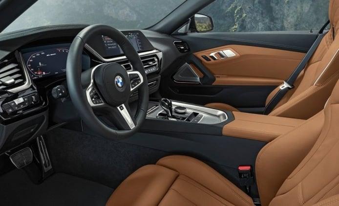 BMW Z4 2019 - interior