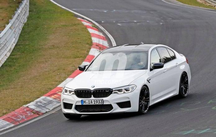 Cazado un posible BMW M5 CS en el circuito de Nürburgring