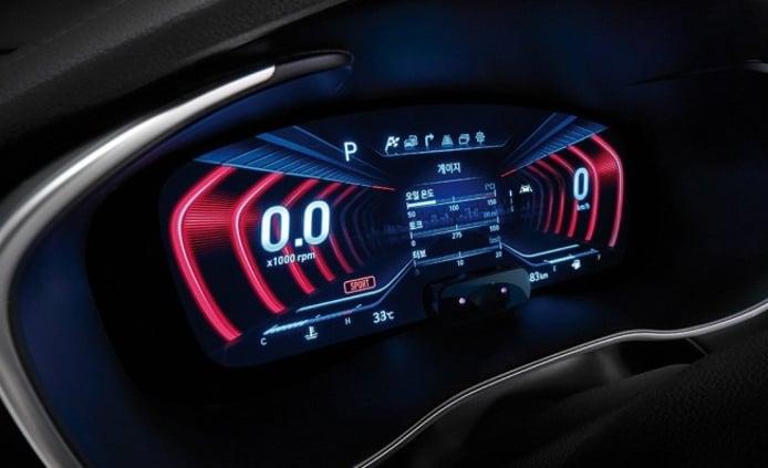 Genesis G70 - cuadro de instrumentos digital 3D