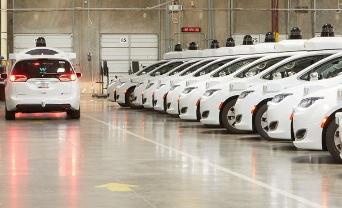 Waymo - prototipos de coches autónomos