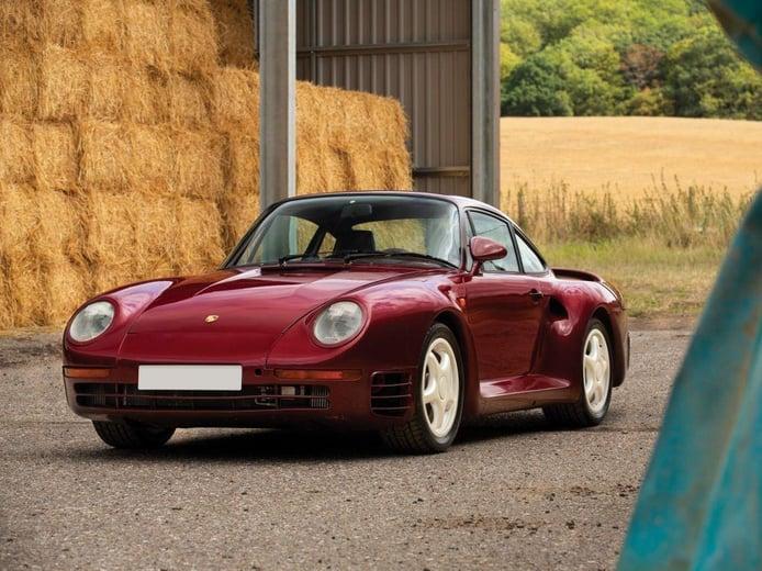 Porsche subasta uno de los raros 959 Prototype supervivientes