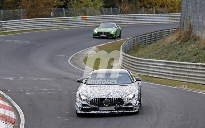 El nuevo Mercedes-AMG GT Black Series se entrena en Nürburgring