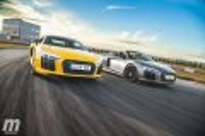Comparativa Audi R8 Coupé vs Audi R8 Spyder, guerra fratricida (con vídeo)