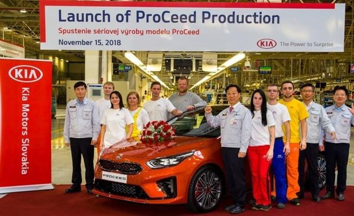 Kia ProCeed 2019 - producción