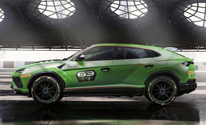 Lamborghini Urus ST-X Concept - lateral