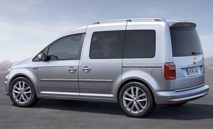 Volkswagen Caddy - posterior
